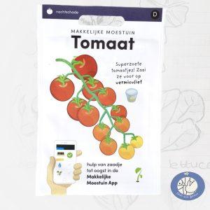 Product afbeelding los zakje zaden Tomaat Makkelijke Moestuin voor website Birds and Berries België
