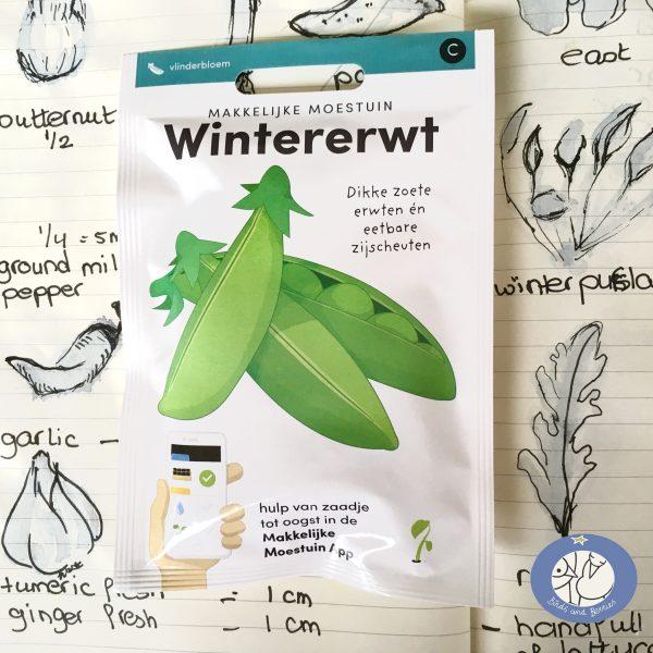 Product afbeelding los zakje wintererwt uit de seizoen serie voor website Birds and Berries België