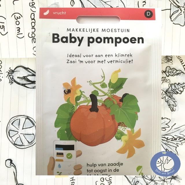 Product afbeelding los zakje babypompoen, nieuw voor website Birds and Berries België