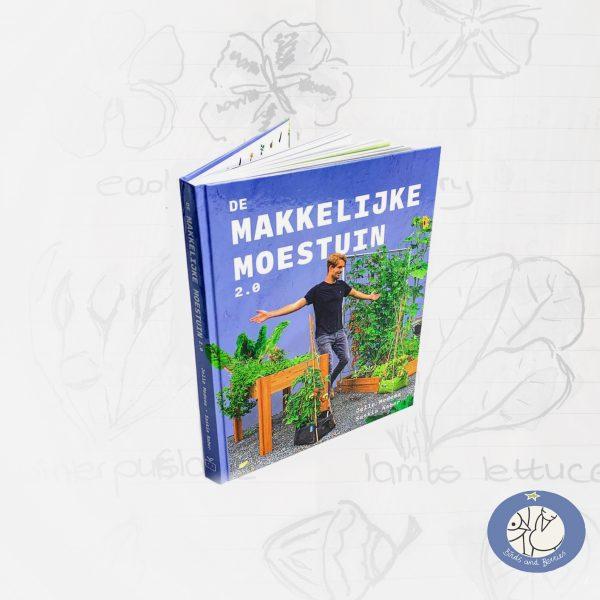 Product boek Makkelijke Moestuin 2.0 voor webshop Birds and Berries