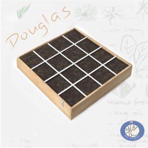 Een productfoto van een MM moestuinbak van Douglas hout 120 x 120 cm in de webshop Birds and Berries