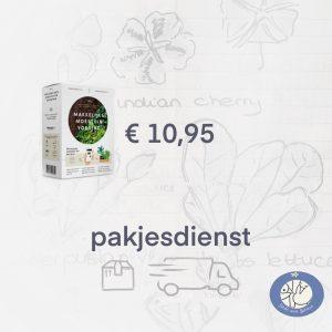 Product afbeelding ID nr. 4721 voeding Makkelijke Moestuin. Birds and Berries verzendt via pakjesdienst vanaf € 25 gratis verzonden.