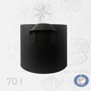 Productafbeelding growbag of moestuinzak 70 liter voor webshop Birds and Berries
