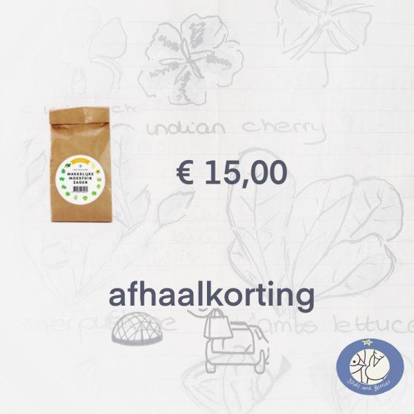 Productafbeelding zadenpakket Seizoens MM met afhaalkorting via webshop Birds and Berries