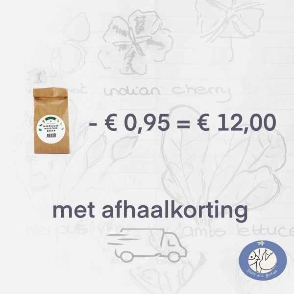 Productafbeelding klimrek zaden met afhaalkorting via webshop Birds and Berries