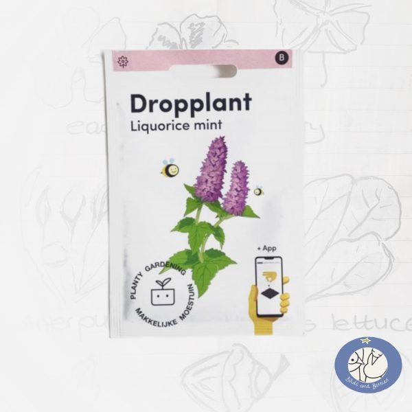 Nieuw product dropplant, los zakje zaden van de Makkelijke Moestuin met of zonder afhaalkorting bij Birds and Berries België