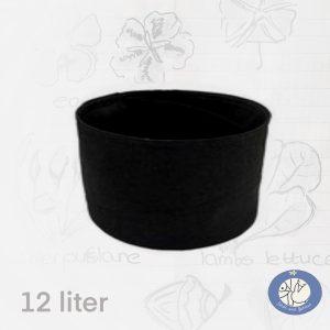 Product afbeelding ronde moestuinzak 20 liter, zwart afhalen in Bonheiden of via de webshop Birds and Berries