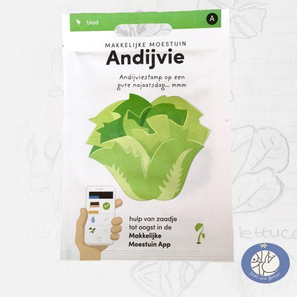 Product afbeelding los zakje andijvie uit Basis serie voor website Birds and Berries België