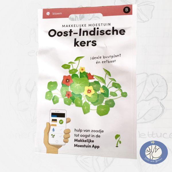 Product afbeelding ID …. met informatie over boterboon zaden Makkelijke Moestuin voor website Birds and Berries België
